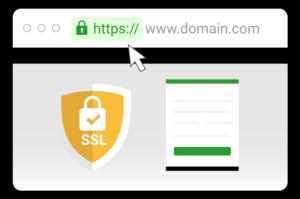 Exemplo de site seguro - certificado de segurança - comparadores de empréstimo